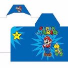Nintendo Super Mario Hooded Beach Bath Towel Wrap - Super Star Personalized
