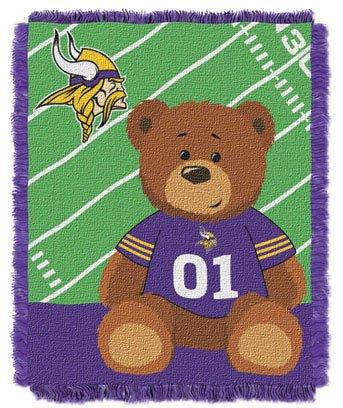 NFL Baby Throw Blanket Minnesota VIKINGS  Personalized