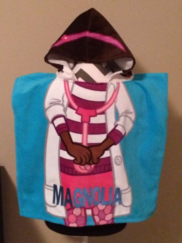 Disney DOC McSTUFFINS Hooded Towel Bath Poncho Personalized