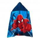 Marvel Spider-Man Web Warrior Hooded Bath Wrap Beach towel Personalized
