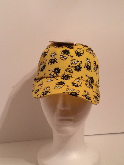 Minion Yellow Kids Baseball Cap Hat Personalized