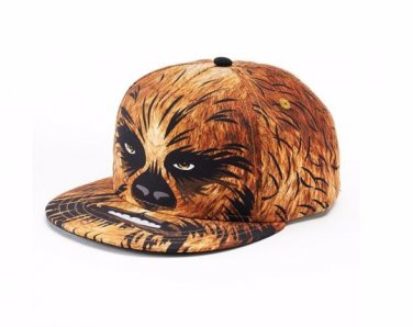 Star Wars Chewbacca Baseball Hat Flatbill Cap � Boys � Personalized