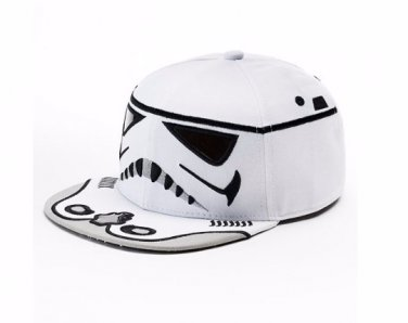 Star Wars Storm Trooper Baseball Hat Flatbill Cap � Boys � Personalized