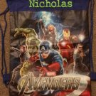 Marvel AVENGERS Drawstring Backpack Sling Bag Thor Iron Man Captain America Hulk – Personalized
