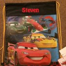 Disney CARS Drawstring Backpack Sling Bag McQueen Mater – Personalized