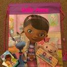 Disney Doc McStuffins Drawstring Backpack Sling Bag – Personalized