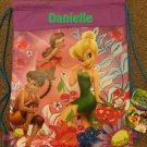 Disney Tinkerbell Tink and Faries Drawstring Backpack Sling Bag Tote – Personalized