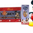 Mickey Mouse 3 Ring Binder Pencil Case Pouch - Monogrammed