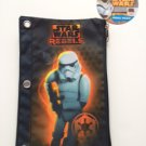 Star Wars REBELS Stormtrooper 3 Ring Binder Pencil Case Pouch - Monogrammed