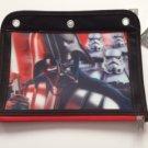 Star Wars DARTH VADER 3 Ring Binder Pencil Case Pouch - Monogrammed