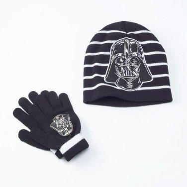 Star Wars Darth Vader Hat & Glove Set - Boys - Personalized