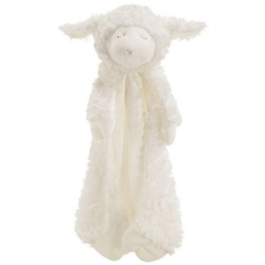 Baby Gund Winky Lamb Huggybuddy Blanket Plush Toy - Personalized