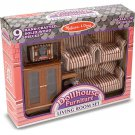 Melissa and Doug Victorian Living Room Furniture Set - 1 in. Scale - 2584
