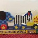 Melissa and Doug Pull Along Zoo Animals