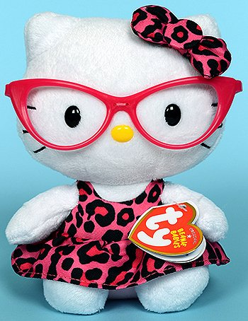 Ty Hello Kitty Beanie Babies � 8 in � fashionista 40958