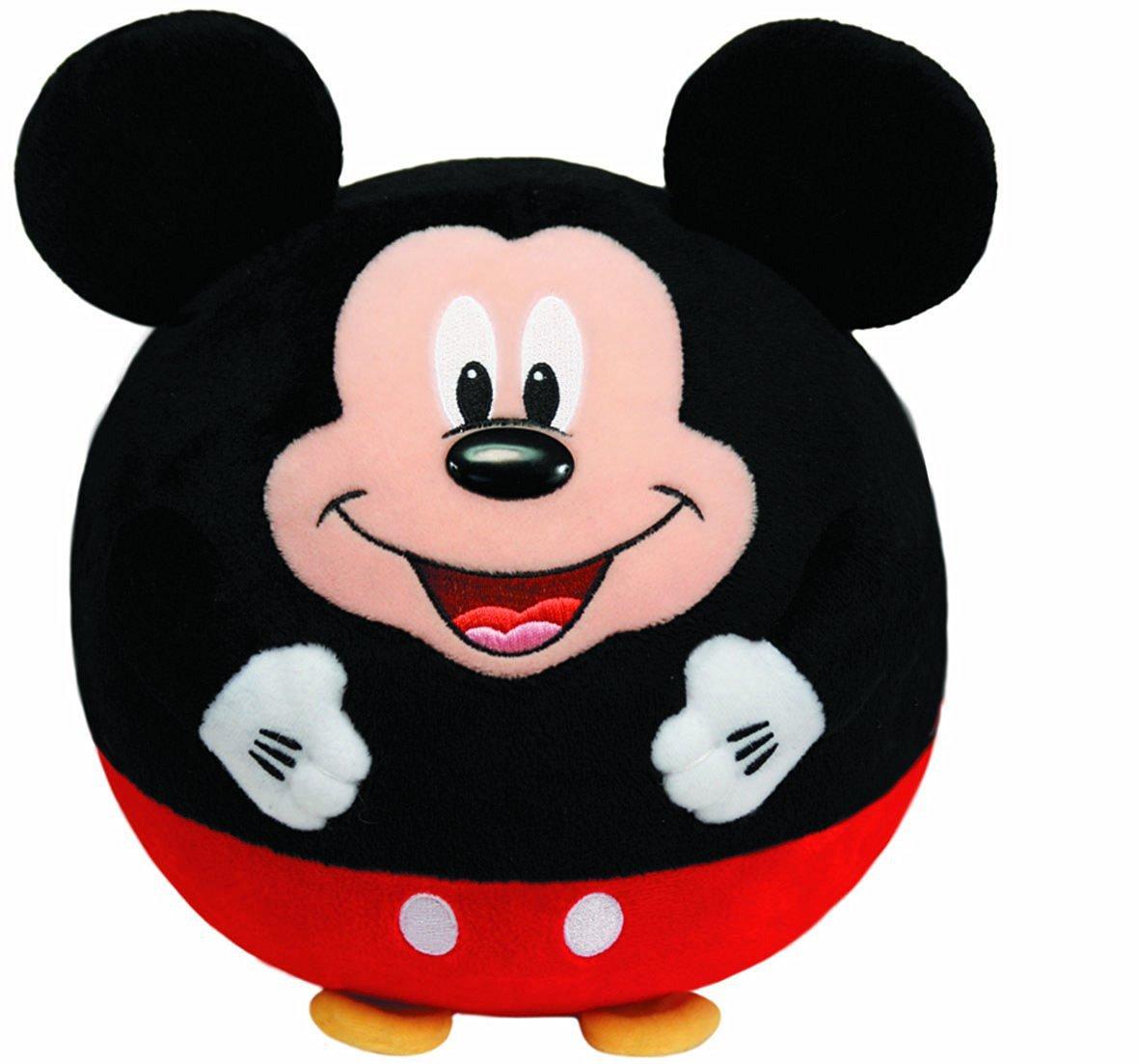 5760f493b05 Ty Beanie Ballz Mickey Mouse Plush 38051