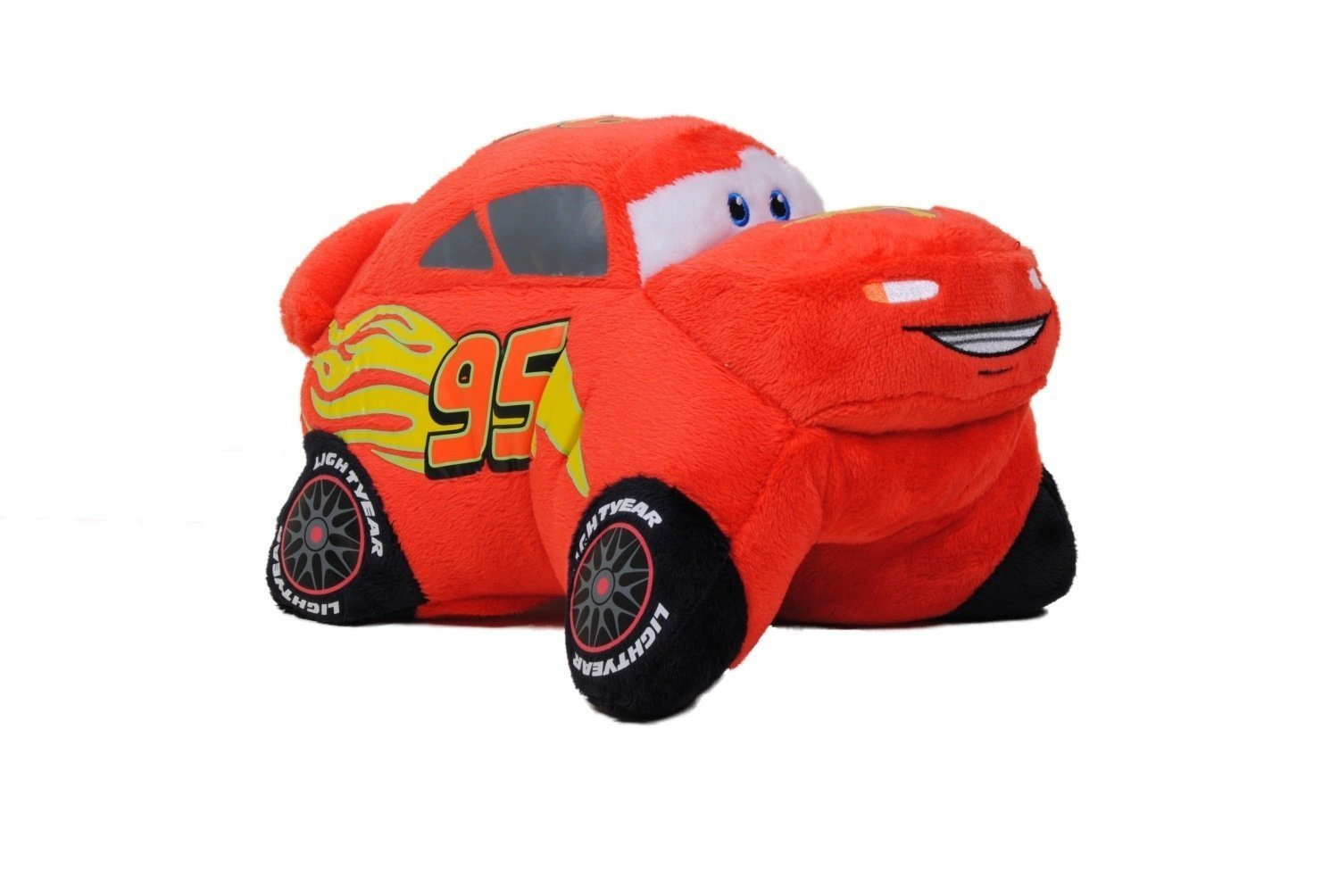 Pillow Pets, Pee Wees, Disney/Pixar Cars 2 Movie, Lightning McQueen, 11 Inches