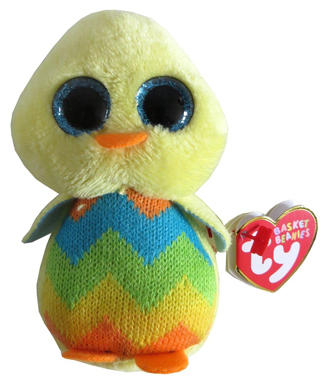 Ty Basket Beanies Tweet - Baby Chick 35199