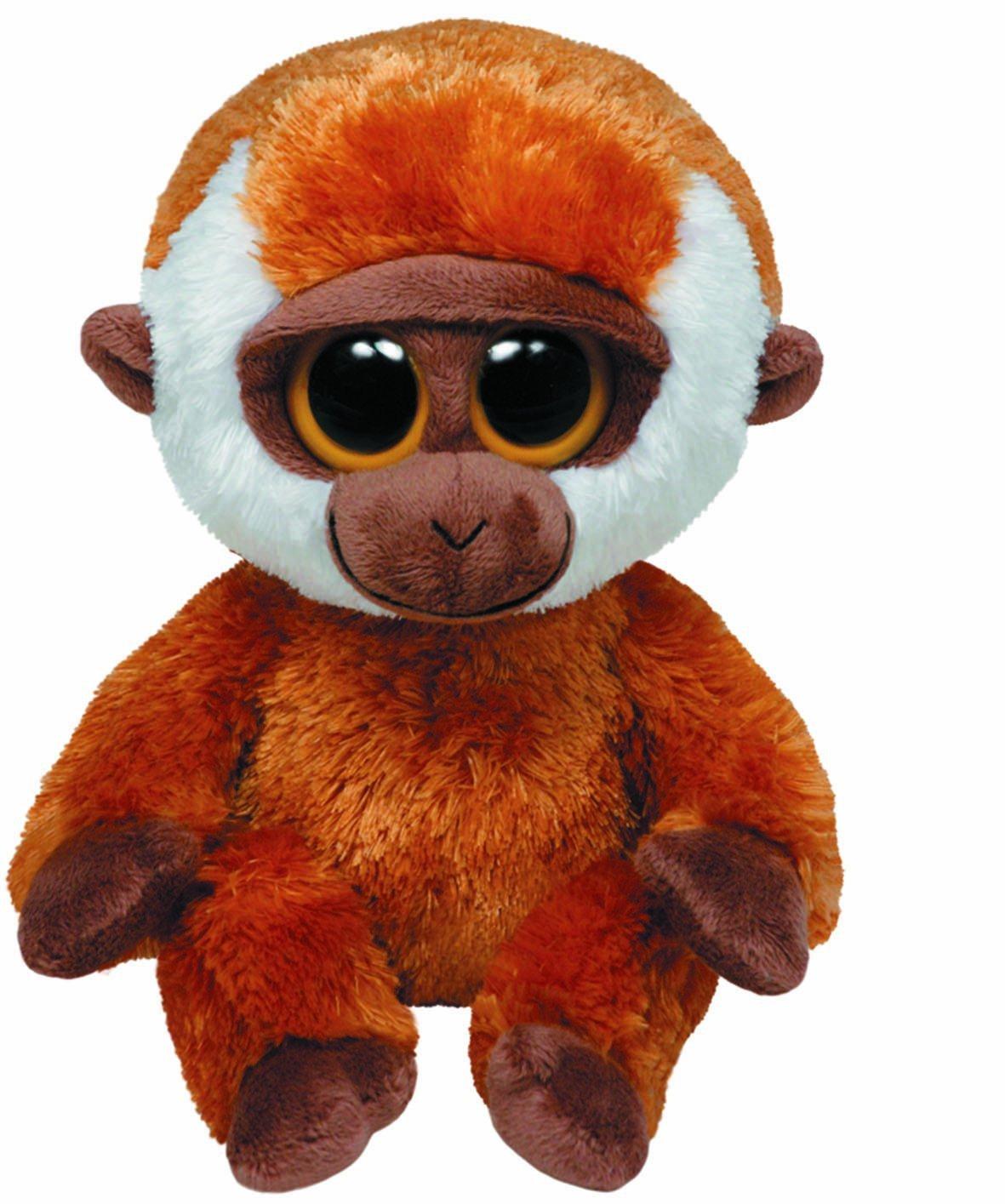 """Ty Beanie Boos Bongo Orangutan 6"""" Plush 36077"""