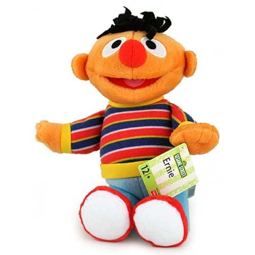 Fisher-Price Ernie Plush Doll [9.5 inches]
