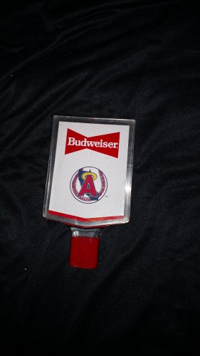 Budweiser Tap Handle -Baseball
