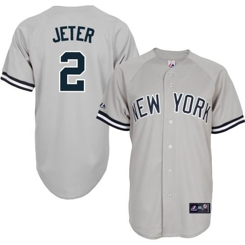 Derek Jeter New York Yankees #2 Replica Baseball Jersey Multiple styles