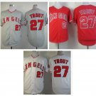Mike Trout 2015 Los Angeles Anaheim Angels #27 Replica Baseball Jersey Multiple style