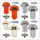 Buster Posey 2015 San Francisco Giants #28 MLB Replica Jersey Multiple styles