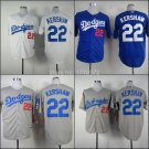 Clayton Kershaw 2015 Los Angeles Dodgers #22 MLB Replica Jersey Multiple styles