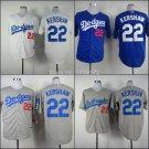 Clayton Kershaw 2015 Los Angeles Dodgers #22 MLB Replica Jersey Multiple styles