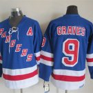 Adam Graves New York Rangers #9 Replica Hockey Jersey Multiple styles
