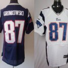 Rob Gronkowski #87 New England Patriots Replica Football Jersey Multiple styles