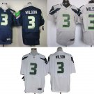 Russell Wilson #3 Seattle Seahawks Replica Football Jersey Multiple styles