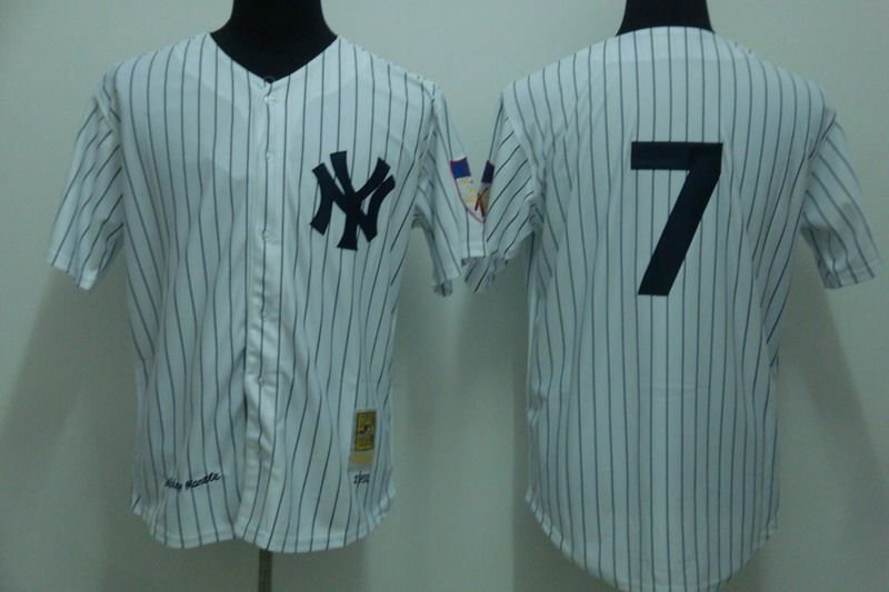 Mickey Mantle New York Yankees #7 Replica Baseball Jersey Multiple styles