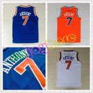 Carmelo Anthony New York Knicks #7 Replica Basketball Jersey Multiple Styles