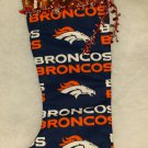 Denver Broncos handmade Stocking