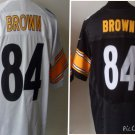 Antonio Brown #84 Pittsburgh Steelers Replica Football Jersey Multiple styles