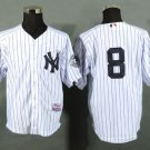 Yogi Berra New York Yankees #8 Replica Baseball Jersey Multiple styles