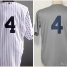 Lou Gherig New York Yankees #4 Replica Baseball Jersey Multiple styles