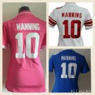 Women's Eli Manning New York Giants #10 Replica Football Jersey Multiple Styles