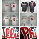 Philadelphia Phillies #6 Ryan Howard  Replica Baseball Jersey Multiple styles
