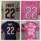 Women's Chicago Bears  Matt Forte #22 Replica Football Jersey Multiple styles