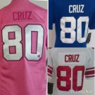 Women's Victor Cruz New York Giants #80  Replica Football Jersey Multiple Styles