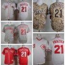 Todd Frazier  Cincinnati Reds #21 Replica Baseball Jersey Multiple styles