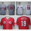 Joey Votto Cincinnati Reds #19 Replica Baseball Jersey Multiple styles