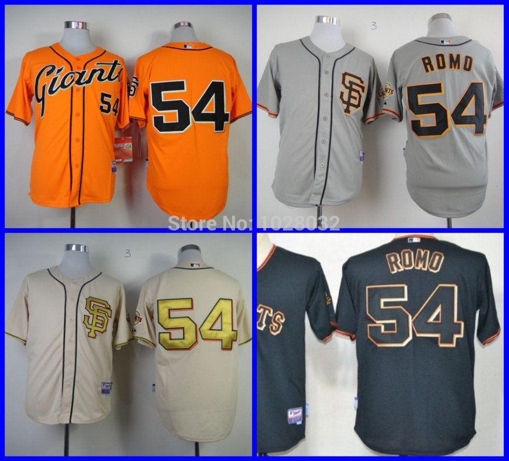 Sergio Romo San Francisco Giants #54 Replica Baseball Jersey