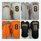 Hunter Pence  San Francisco Giants #8 Replica Baseball Jersey
