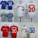 Josh Donaldson Toronto Blue Jays  #20  Replica Baseball Jersey Multiple styles