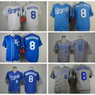 Mike Moustakas Kansas City Royals #8  Replica Baseball Jersey Multiple styles