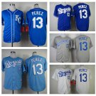 Salvador Perez Kansas City Royals #13  Replica Baseball Jersey Multiple styles